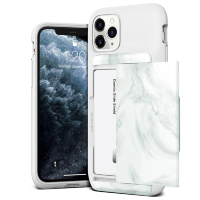 Чехол VRS Design Damda Glide Shield для iPhone 11 Pro Max White Marble