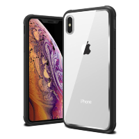 Чехол VRS Design Crystal Chrome для iPhone X/XS Black