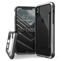 Чехол X-Doria Defense Shield для iPhone X/XS Серебро