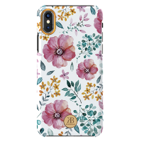 Чехол Kingxbar Blossom Series для iPhone X/Xs Pink Flower