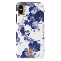 Чехол Kingxbar Blossom Series для iPhone X/Xs Orchid